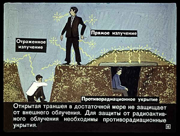 приколы в картинках - Как защититься от ядерного удара